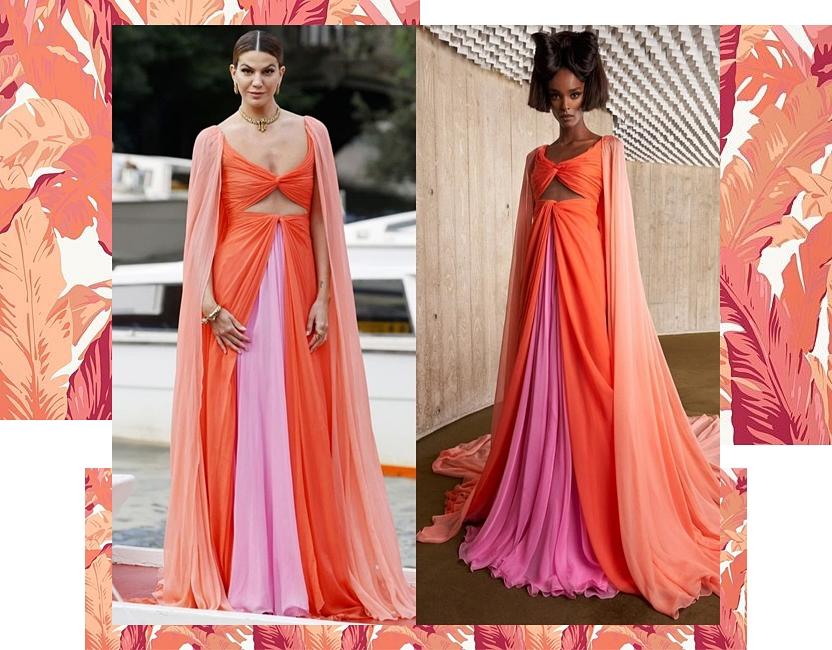 Bianca Brandolini y la combinación de colores más favorecedora del verano