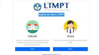 LINK Registrasi Akun LTMPT di Portal.ltmpt.ac.id untuk Daftar SNMPTN, UTBK, dan SBMPTN 2020