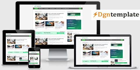 Fastify Responsive Blogger Template dgntemplate