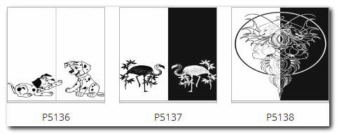 Пескоструйный рисунок животные