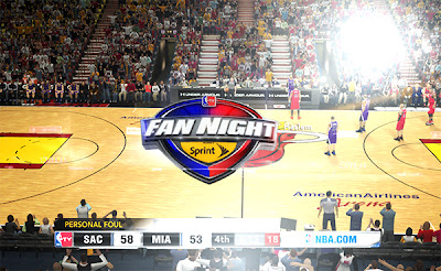 NBA 2K13 Fan Night Patch Presented by Sprint