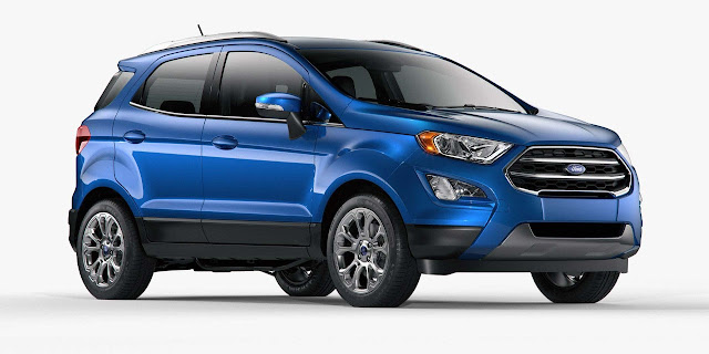 List of Ford EcoSport Types Price List Philippines
