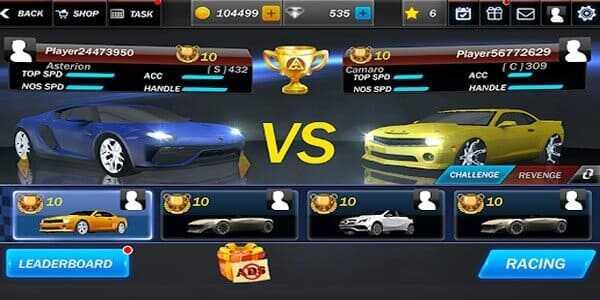 تهكير لعبة Street Racing 3D