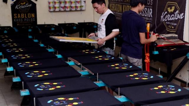 Jasa Konveksi Pembuatan Seragam Kaos Sablon Padang, Sumatera Barat