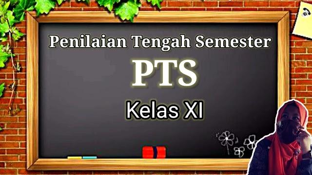 PENILAIAN TENGAH SEMESTER KELAS XI