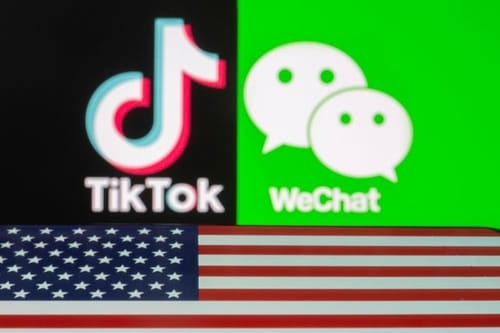According to China the bans on TikTok and WeChat are against WTO regulations