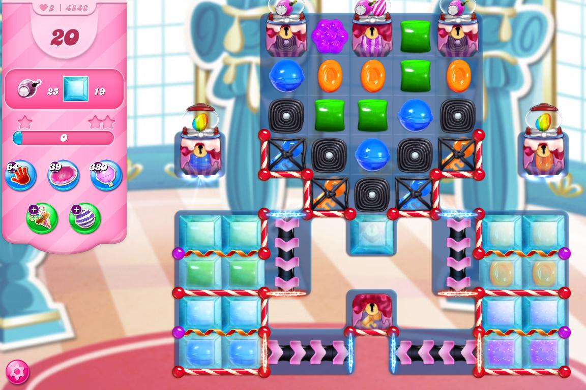 Candy Crush Saga level 4842