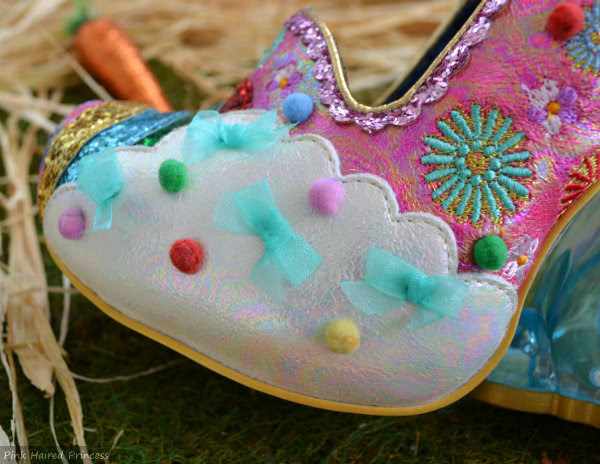 Irregular Choice Rainbunny cloud detail
