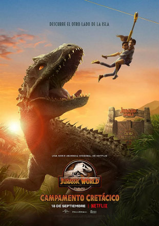 Jurassic World: Camp Cretaceous 2020 (Season 1) All Episodes Dual Audio HDRip 720p