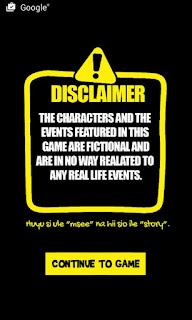 bungoma hangman game disclaimer