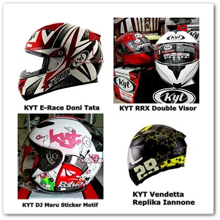 Daftar Harga Helm KYT Model Terbaru 2015