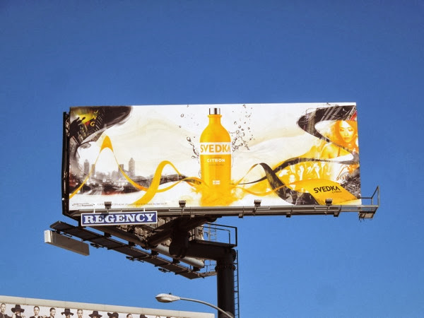 Svedka Vodka Citron billboard