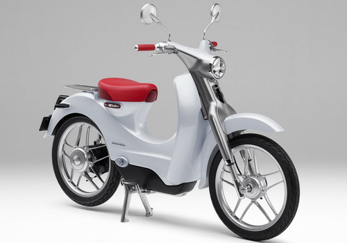Tinuku Honda EV-CUB electric motorcycle scheduled to Indonesia in 2018
