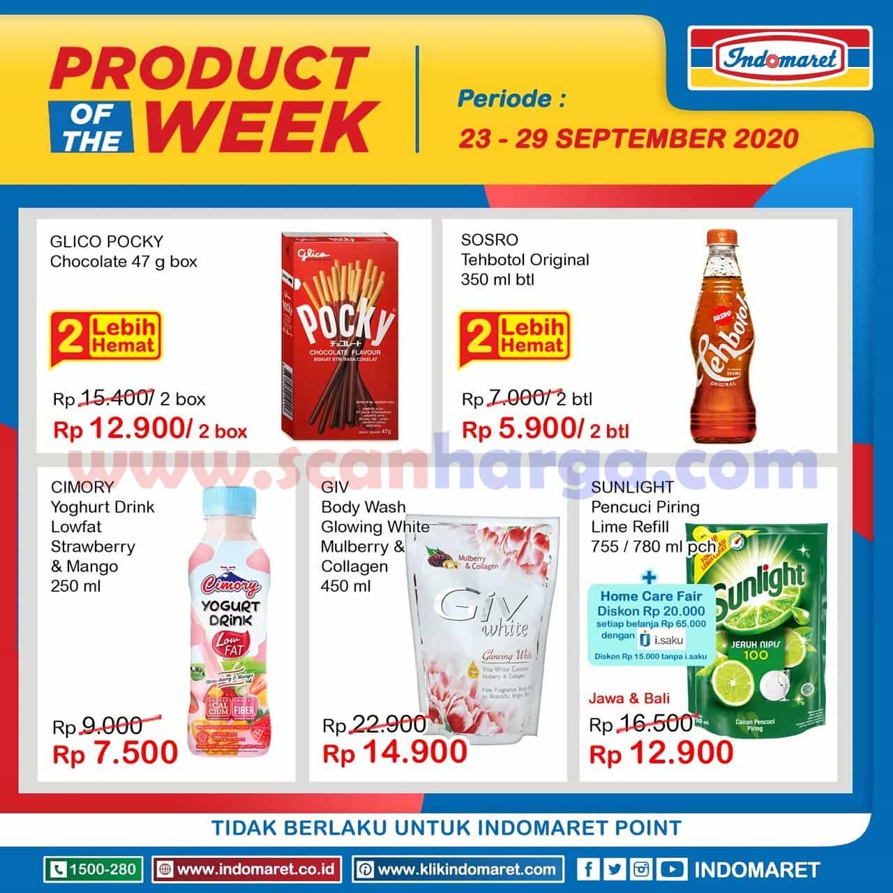 Katalog Indomaret Product Of The Week Promo PTW 23 - 29 September 2020