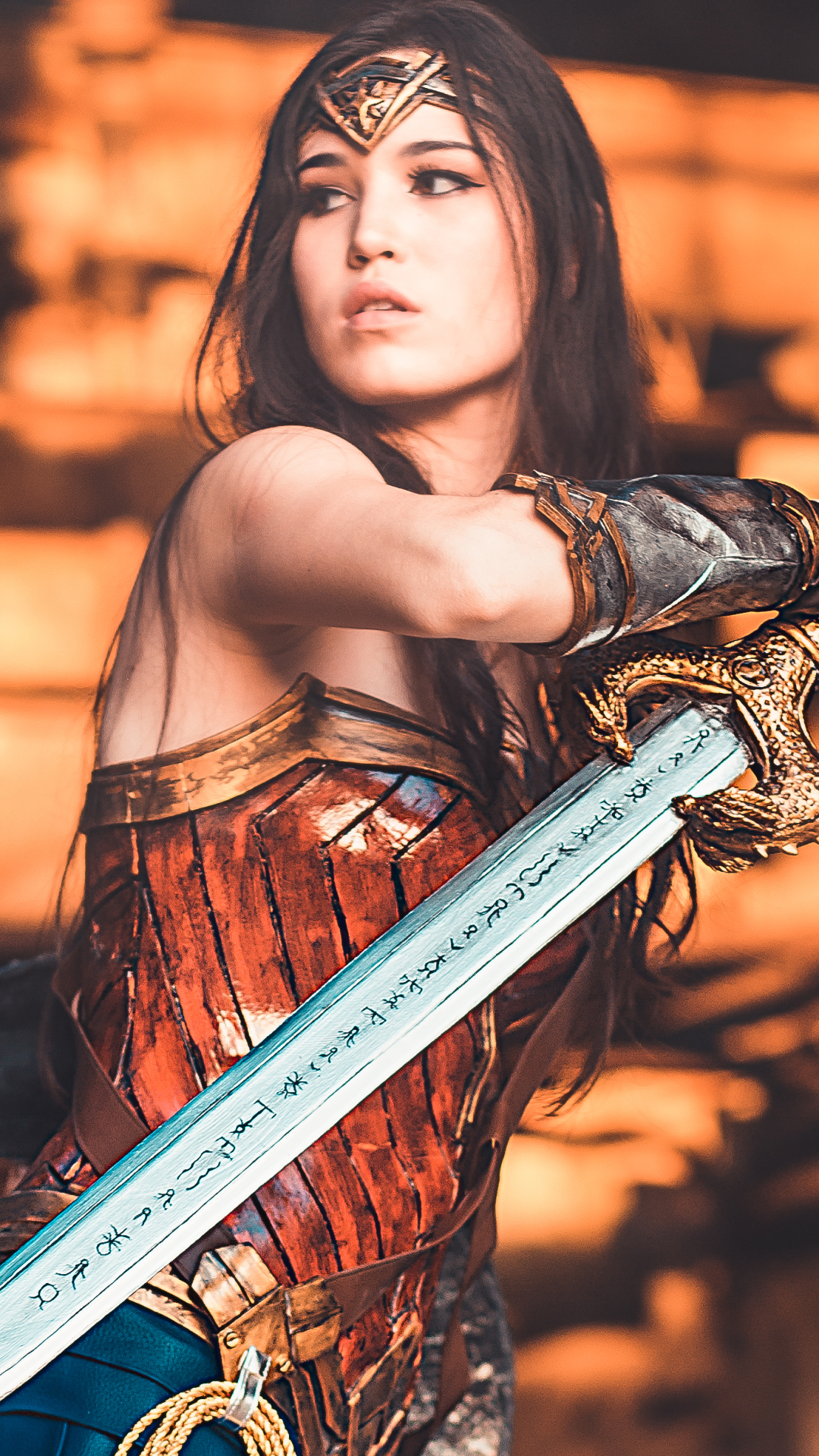 Wonder Woman Mobile wallpaper