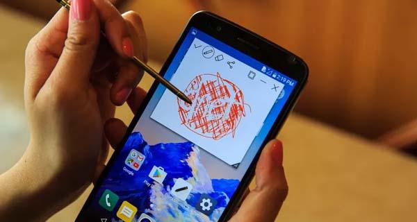 Smartphone dengan stylus - LG Stylus 3