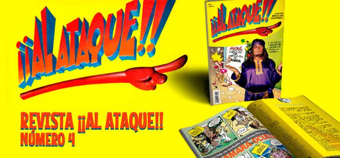 Revista ¡¡Al Ataque!! Nº 4