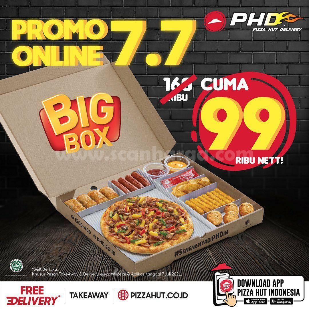 PHD Promo Online 7.7 Pesan BIG BOX cuma Rp. 99.000 nett