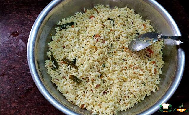 Rayalaseema Uggani - Puffed Rice Upma Recipe