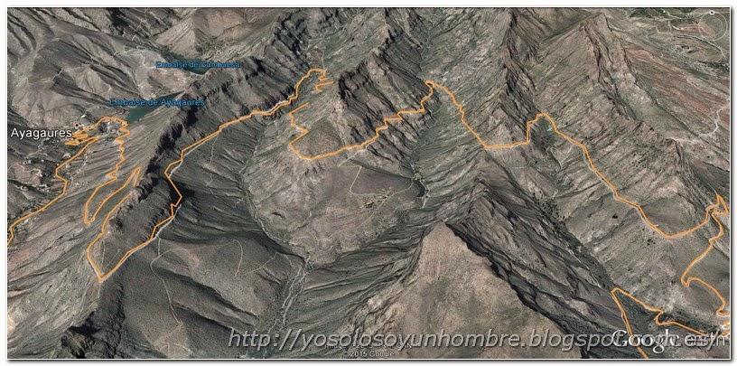 Mapa de la 4 lomas