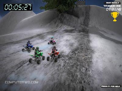 تحميل لعبة Winter Quad Racing للكمبيوتر مجانية
