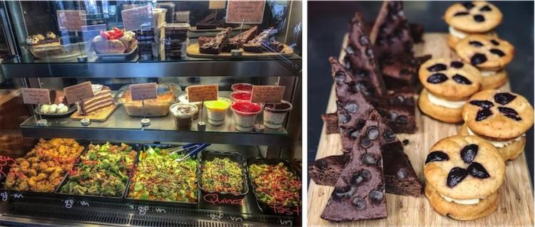 The cafe-style treats at Giri Kana
