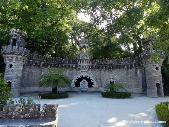 El portal de los guardianes, Quinta da Regaleira, Sintra