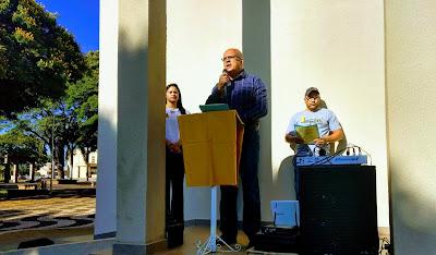 Prefeito Adhemar Rejani lembra a importância dos eventos do   Setembro Amarelo