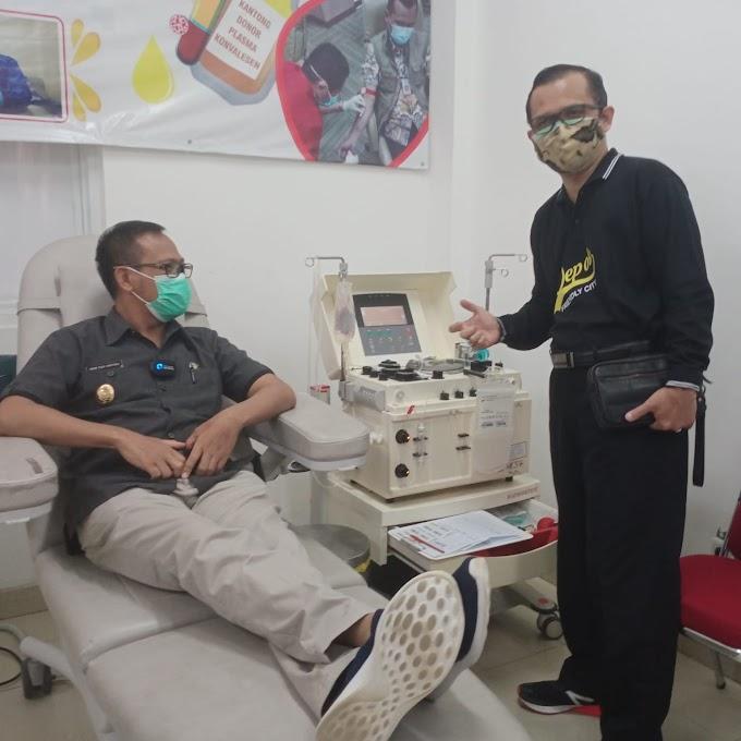 Wakil Walikota Ajak Penyintas Covid-19 Donorkan Plasma Konvalesen