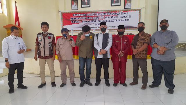 Pemprov Riau Konsultasi Dengan Pemilik Tanah Sepanjang Jalan Tol Inhu-Pekanbaru