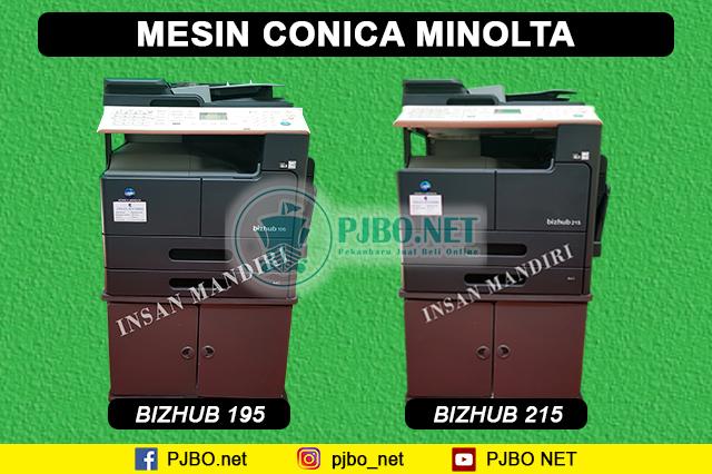 Jual Mesin Fotocopy Minolta Pekanbaru