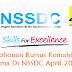 Permohonan Kursus Kemahiran Percuma Di NSSDC April 2016