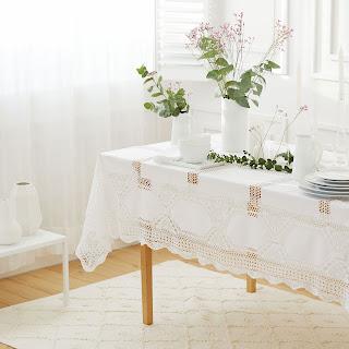 zara home table cloth