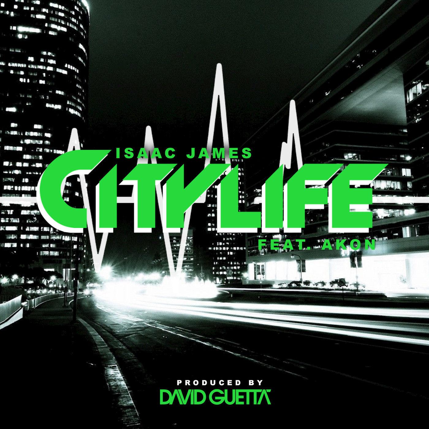 Isaac James - City Life (feat. Akon) - Single Cover