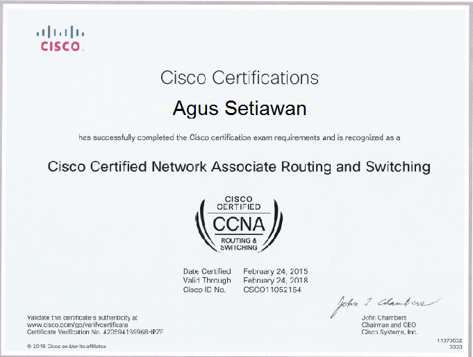 Mengenal Macam-Macam Sertifikasi Cisco