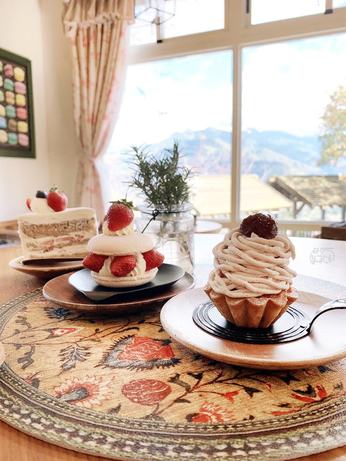 南投|仁愛鄉 蒙塔妮手作甜點Pâtisserie à la Montagne |山中鄉村小屋|清淨秘境甜點