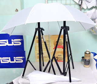 Light Stand + Payung + Flash Holder