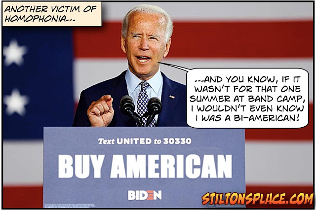 stilton's place, stilton, political, humor, conservative, cartoons, jokes, hope n' change, Biden, Buy American, Hunter Biden, Ukraine, Burisma
