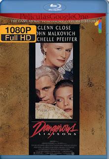 Relaciones Peligrosas [1988] [1080p BRrip] [Latino-Ingles] [HazroaH]