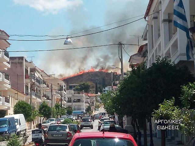 Ευχαριστήριο Δημάρχου Ναυπλιέων Δ. Κωστούρου προς την Πυροσβεστική Ναυπλίου