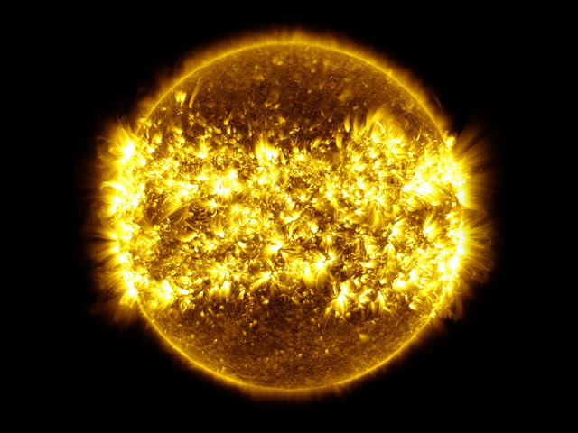Background of The Sun