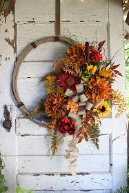 fall lasso wreath