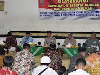 Kapolda DIY Sambangi Pesantren Diponegoro Depok