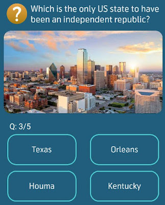 Which is the only US state to have been an independent republic