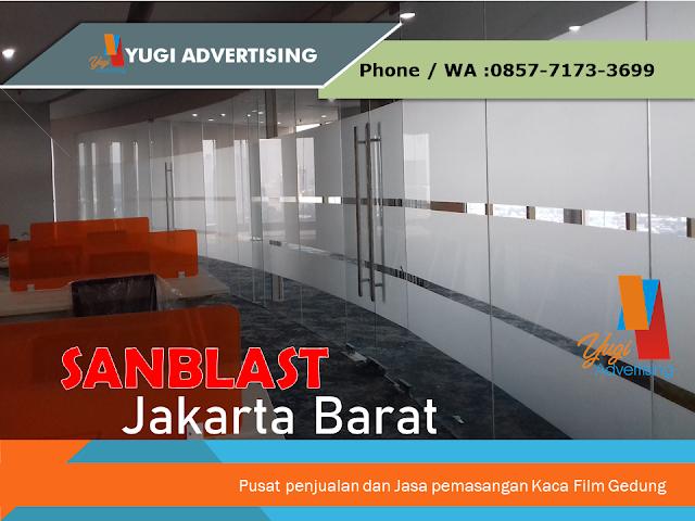 Jasa Pemasangan Sanblast Jakarta Barat