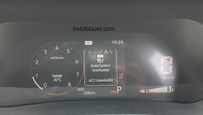 Mengenal Brake System Overheated pada Toyota Raize.