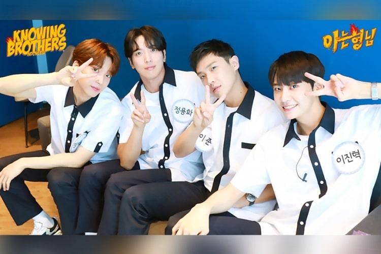 Nonton streaming online & download Knowing Bros eps 243 bintang tamu Lee Joon, Jung Yong-hwa (CNBLUE), Lee Jin-hyuk (UP10TION) & Jeong Se-woon subtitle bahasa Indonesia