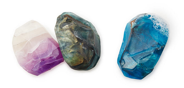 Birthstone Mineral Soaps from Uncommon Goods