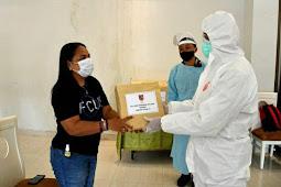 Agus Rohman Tunjukkan Tali Kasih Kepada Pasien COVID-19 Everbright Hotel Ambon