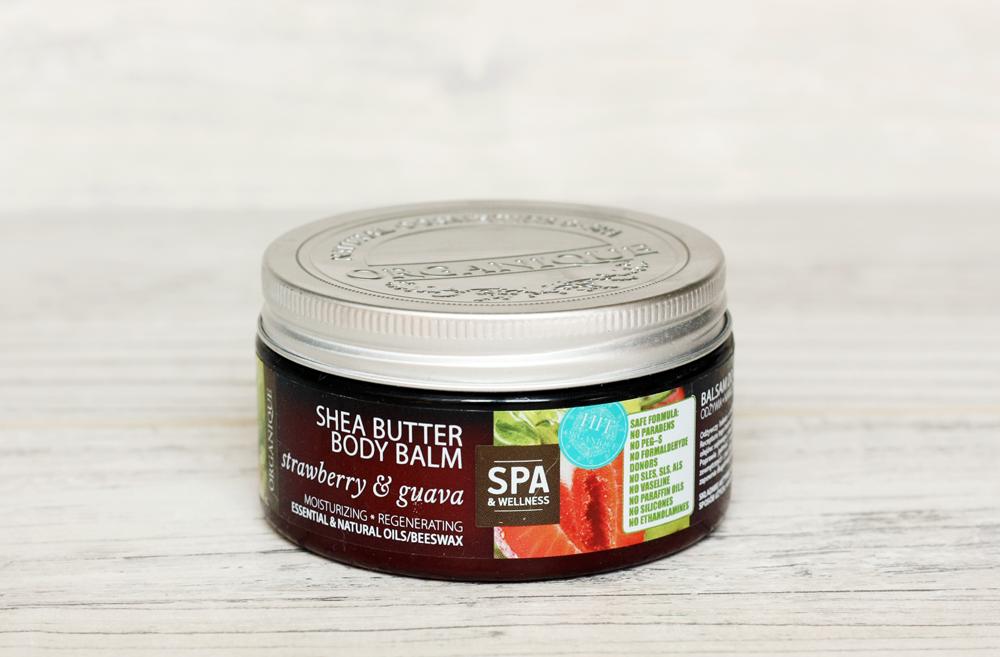 Organique Balsam do ciała z masłem shea truskawka & guava
